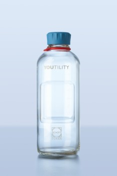 DURAN Laborflasche YOUTILITY klar, GL 45, 1000 ml