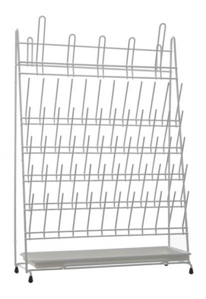 abtropfgestell f r 65 laborgl ser stahl mit pvc beschichtung laborshop24 schnell und. Black Bedroom Furniture Sets. Home Design Ideas